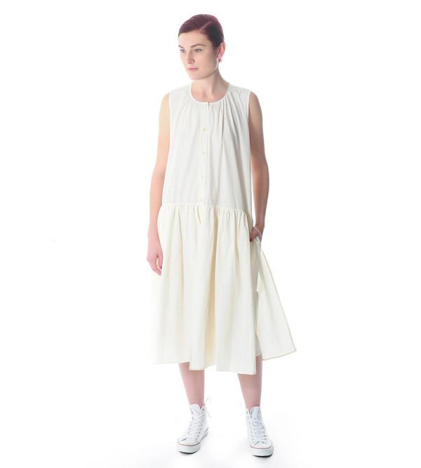 Caron Callahan Cream Mitchell Dress