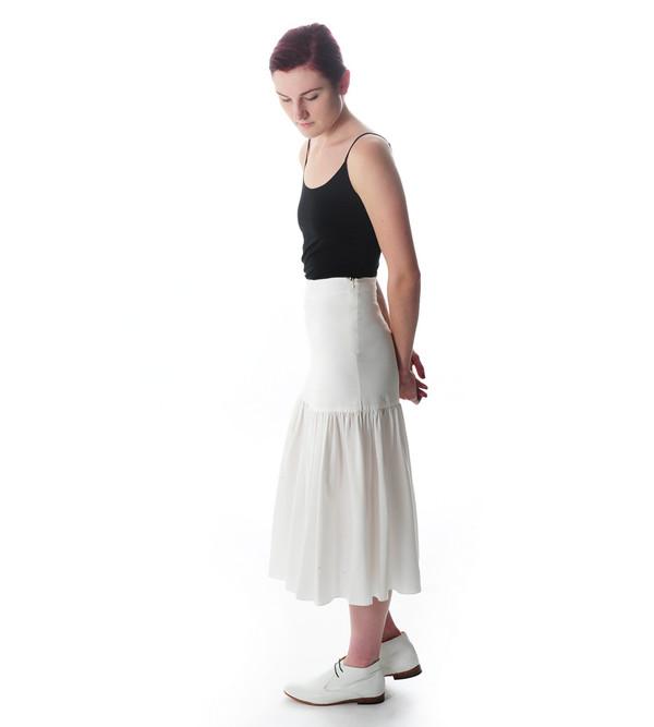 Ryan Roche Silk Tulip Skirt