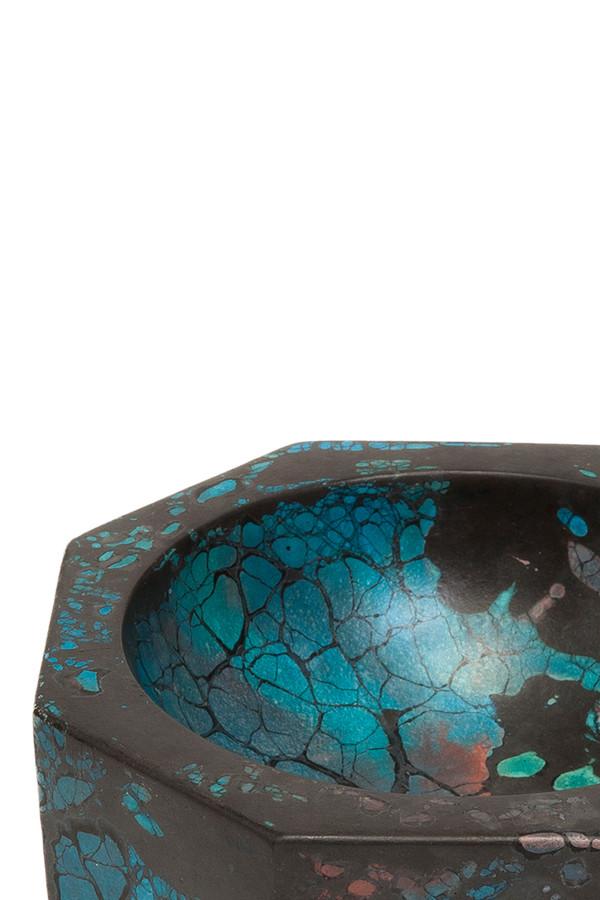 Concrete Cat Octavia Ashtray - Turquoise