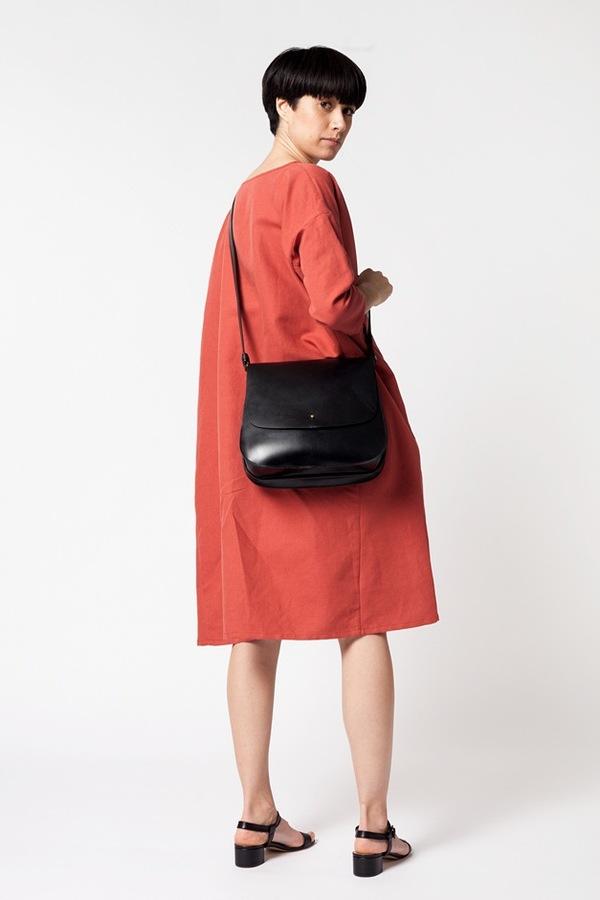 Creatures of Comfort Saddle Bag Medium - black