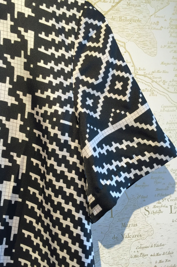 Rhié Silk print tee