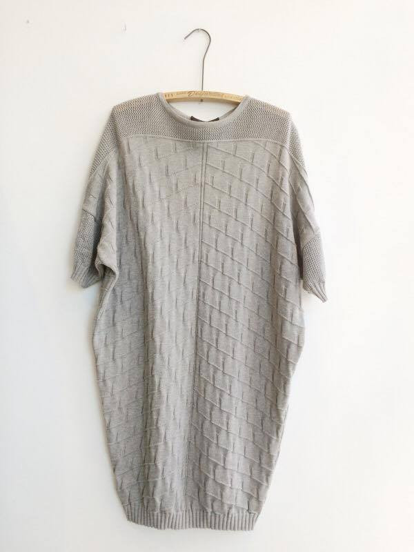 DIARTE DOLORES DRESS – GREY