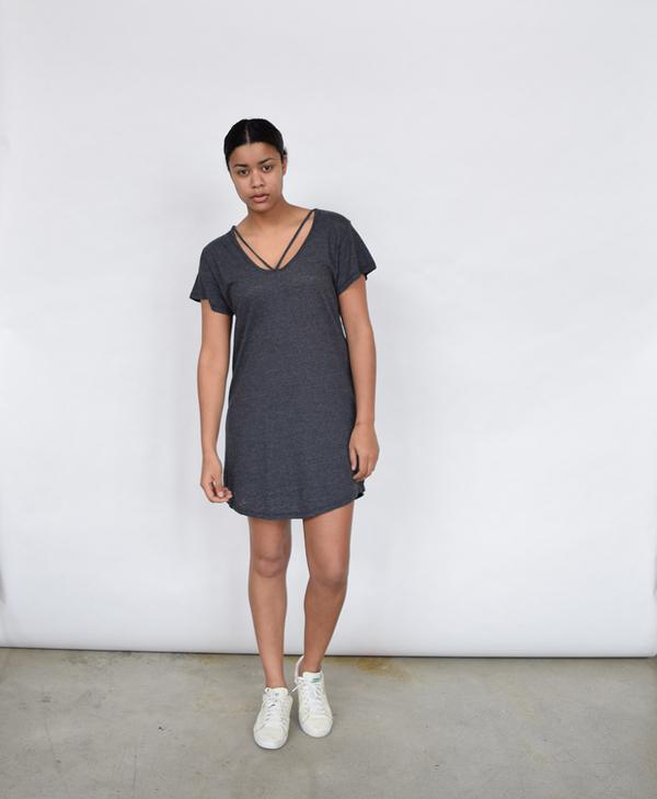 LNA Strappy Tee Dress