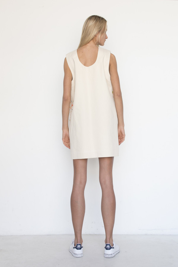 Nancy Stella Soto Cotton Splat Tank Dress