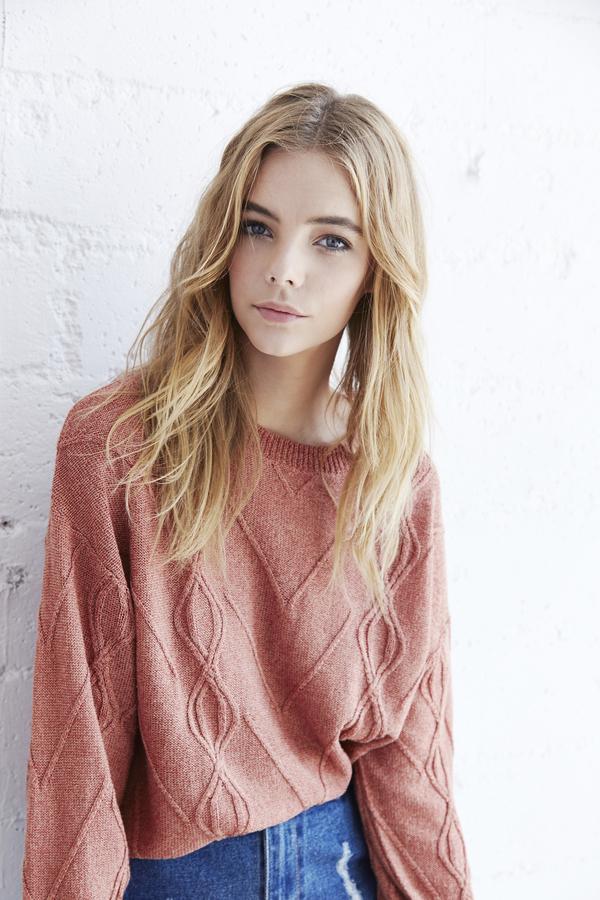 Callahan Cableknit Boyfriend Sweater