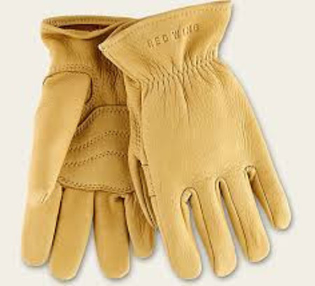Red Wing Shoes Buckskin Leather Unlined Glove