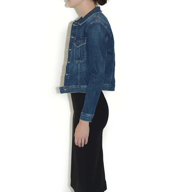 FRAME Denim Le Military Jacket