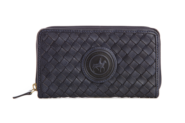 One Fated Knight Maiden Zipper Woven Wallet