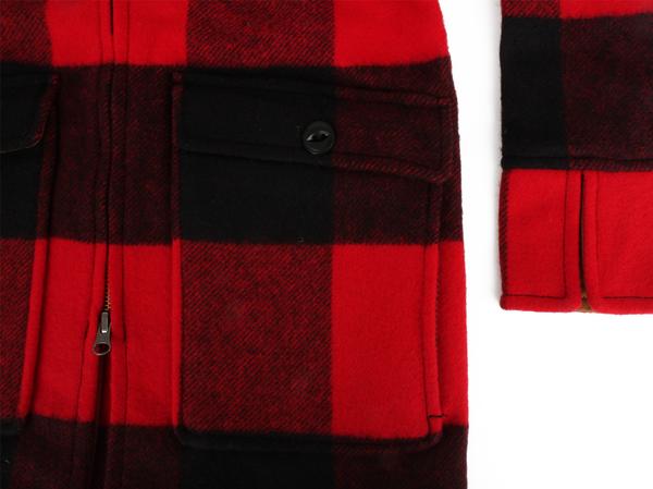 Giant Buffalo Wool Coat