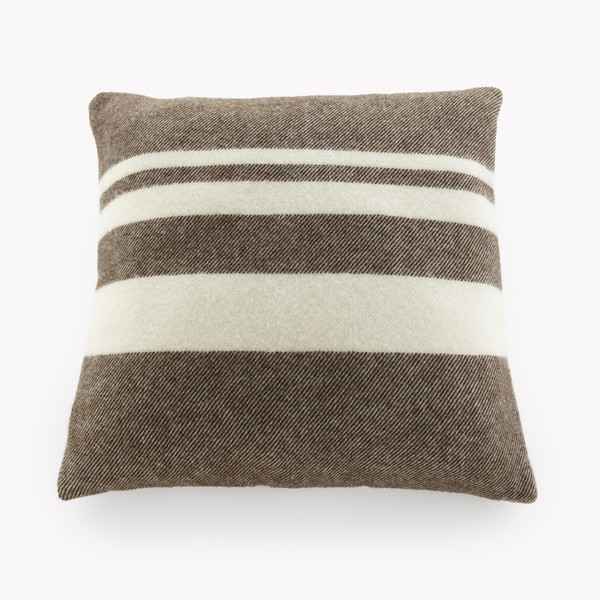 Lodge Stripe Wool Pillow