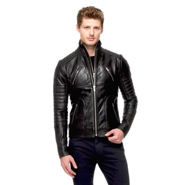 MEN'S LAMARQUE LOADED CHOPPER Motorcycle Jacket