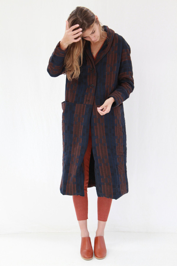 Ace & Jig Storm Overcoat Fable