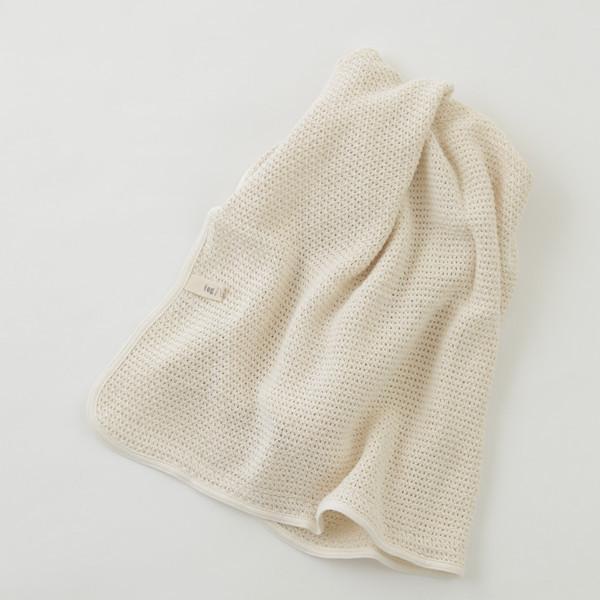 Fog Linen Baby Blanket