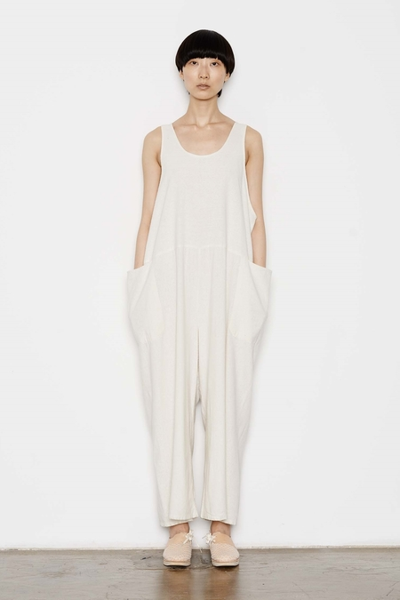 Study NY Tank Suit - Raw Silk