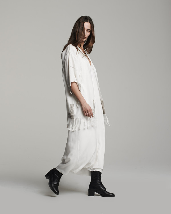 VOZ Fringe Kimono Jacket