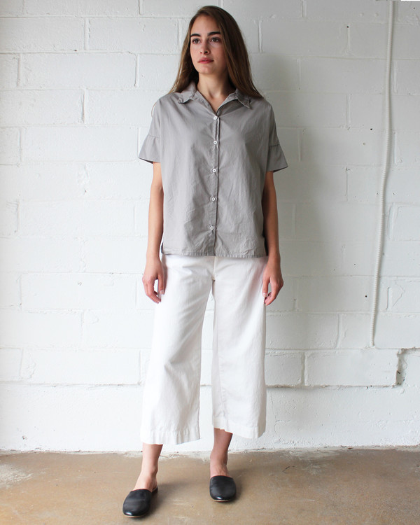 esby STELLA BUTTON DOWN - DRIFTWOOD