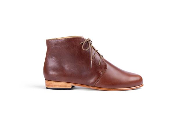 Nisolo Harper Chukka Boot Brandy
