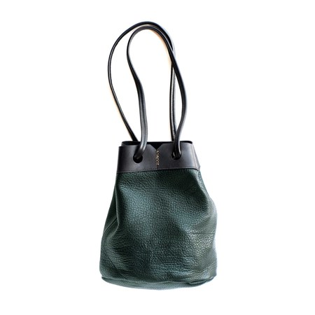 AW by Andrea Wong PACIFIC BUCKET BAG   EVERGREEN