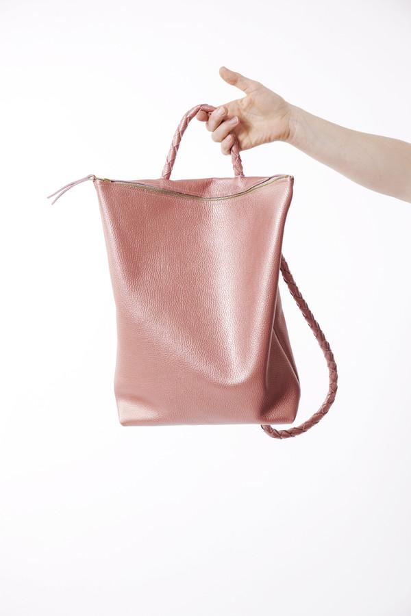 Ara Handbags Backpack No. 1 in Pink Metallic