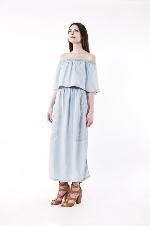 LF Markey Otto Dress (Light Blue)