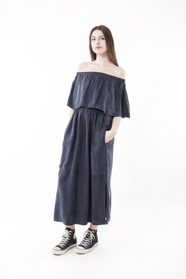 LF Markey Otto Dress (Navy)