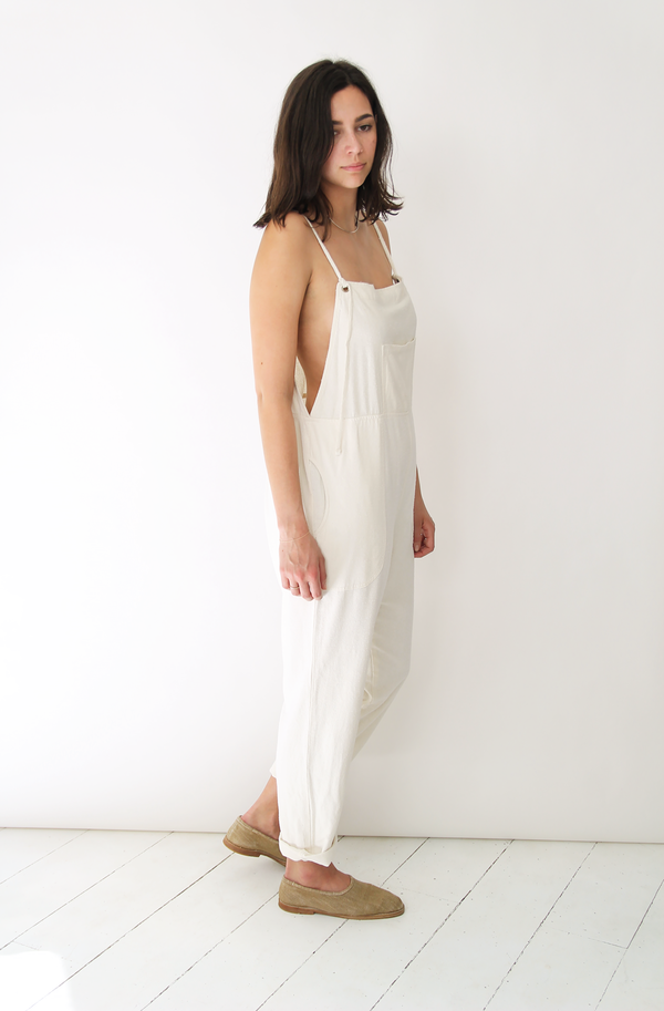 Lacausa RAW SILK OVERALLS