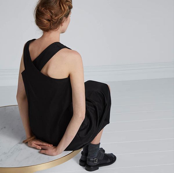 Kowtow Workshop dress - black