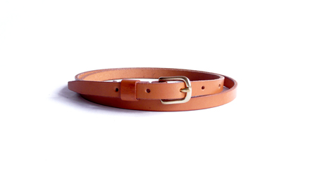 Sara Barner 1/2 in. Belt - Tan