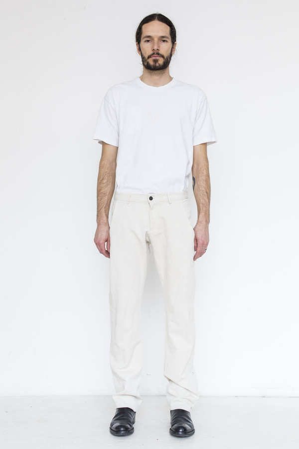 Men's Assembly Cotton Dart Pant - Natural