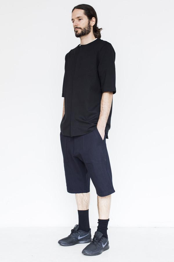 Men's Assembly Cotton Short - Indigo