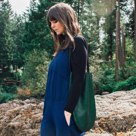 AW by Andrea Wong BOCCE BAG |  EVERGREEN