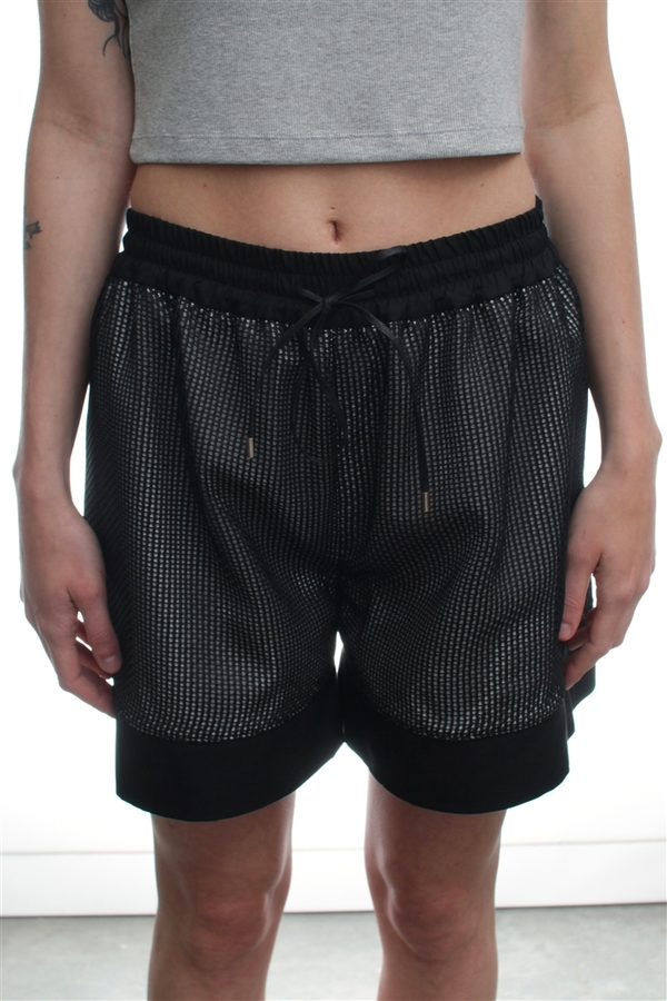 Nomia Mesh And Cotton Shorts