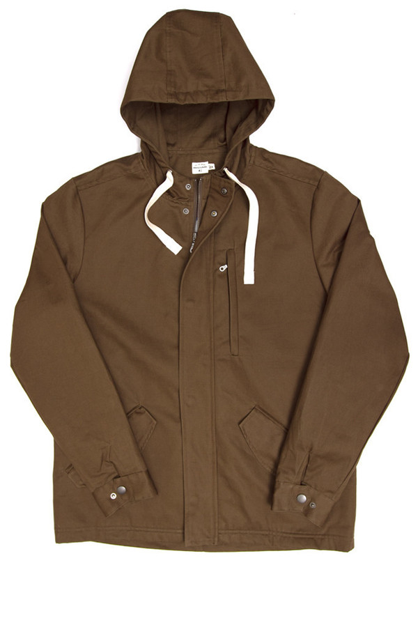 Men's Bridge & Burn Crescent Twill Parka