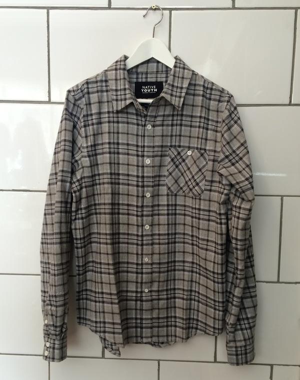 Greyscale Check Shirt