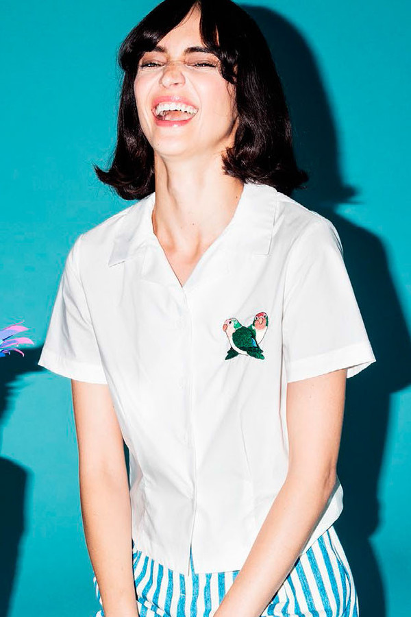 RACHEL ANTONOFF Happy Top