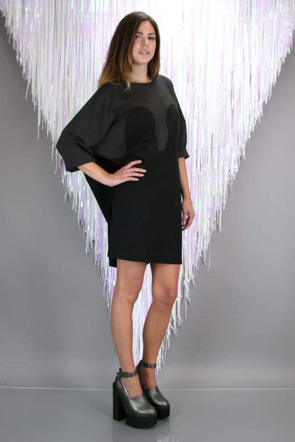 R/H STUDIO Mickey Square Dress