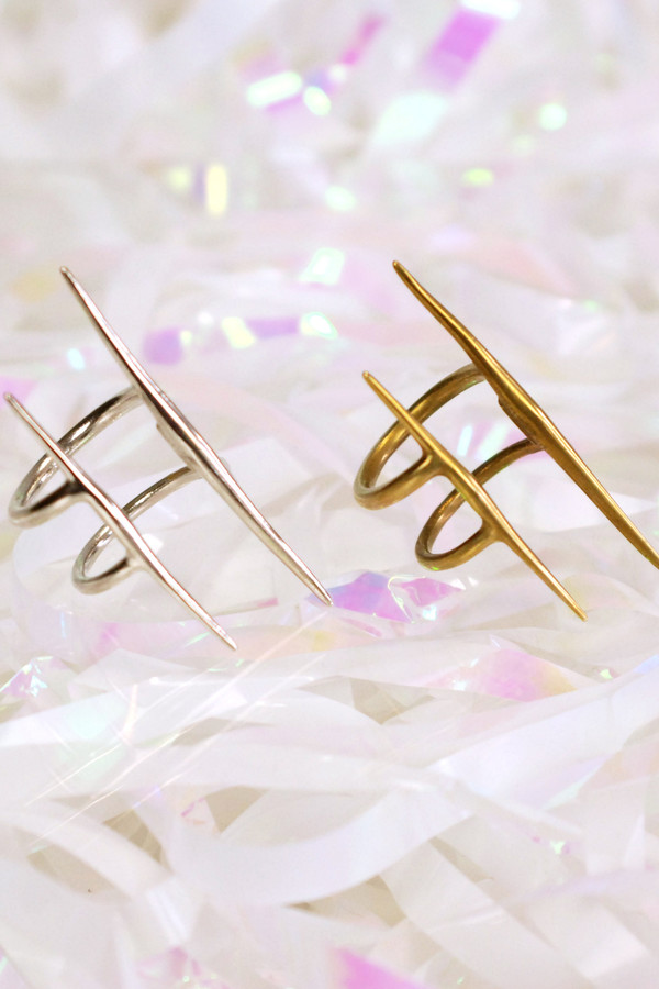 K/LLER COLLECTION Parallel Quill Ring