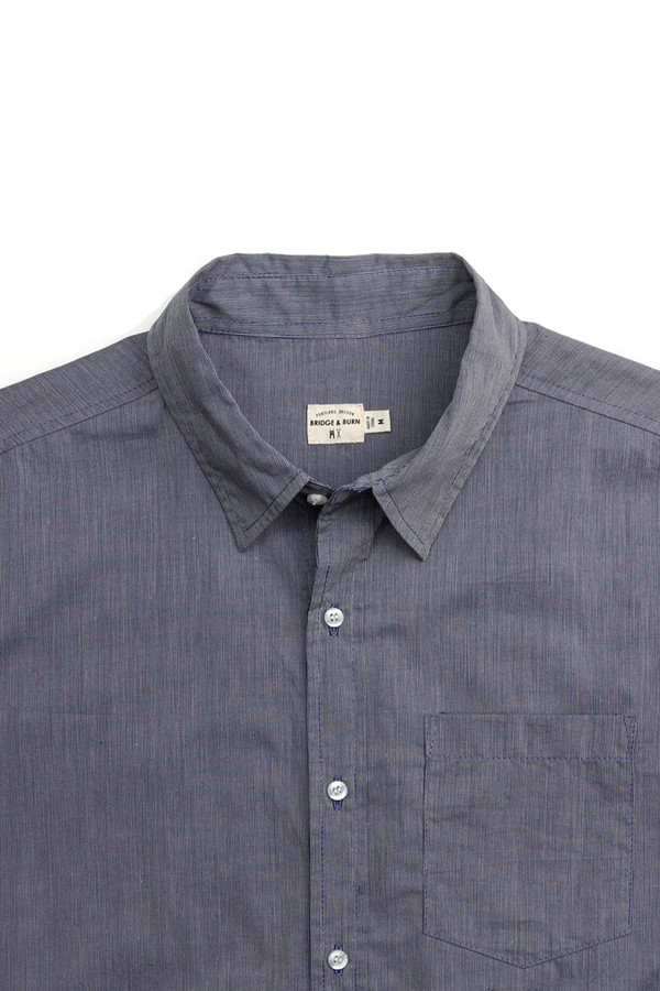 Men's Bridge & Burn Harbor Navy Pinstripe