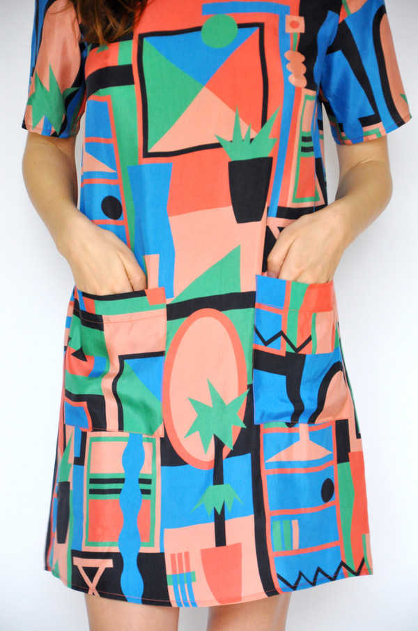 Dusen Dusen Living Room Tee Dress