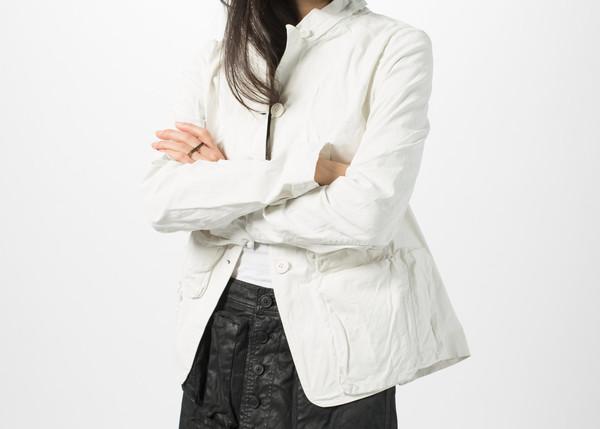 Rundholz Dip Button Collar Jacket
