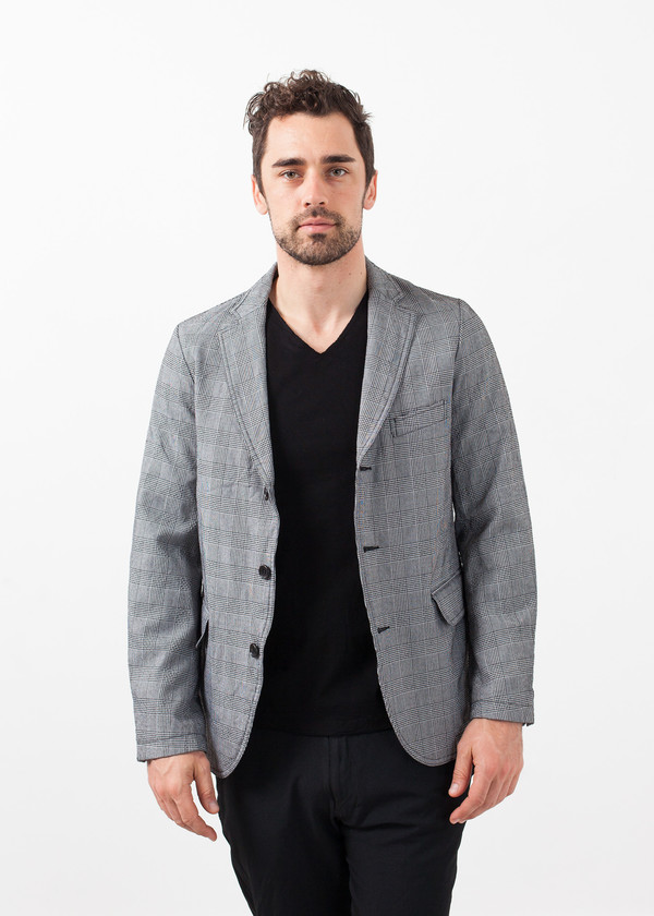 Men's Sage de Cret Check Blazer