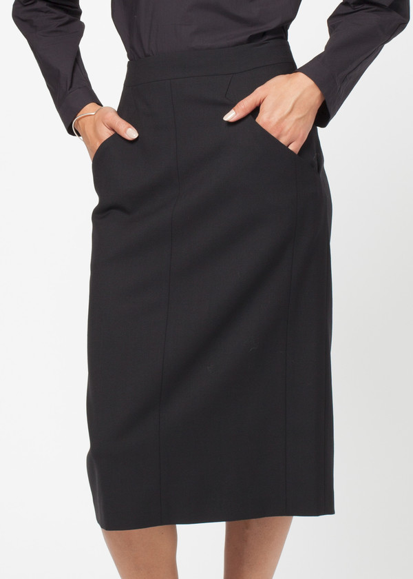 Schai Column Slim Skirt