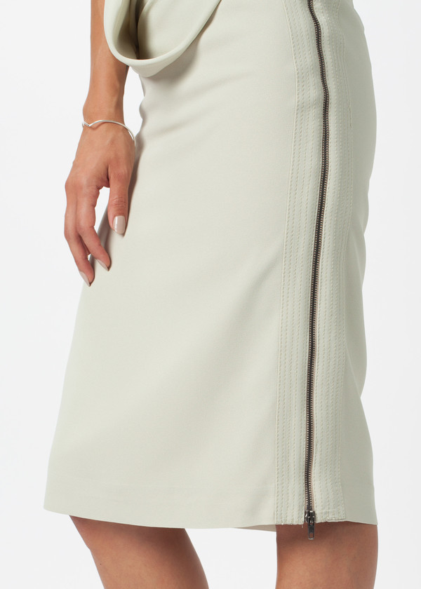 Ter et Bantine Double Zip Skirt