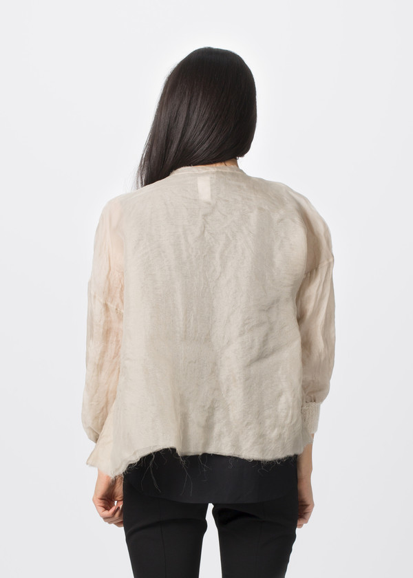Louiza Babouryan Layered Jacket