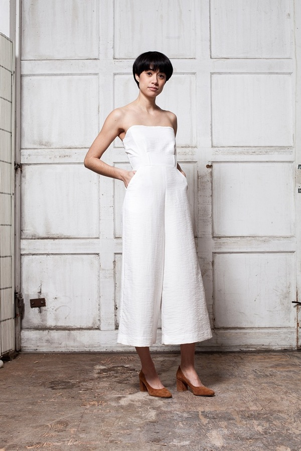 Rachel Comey Summon Jumpsuit - white