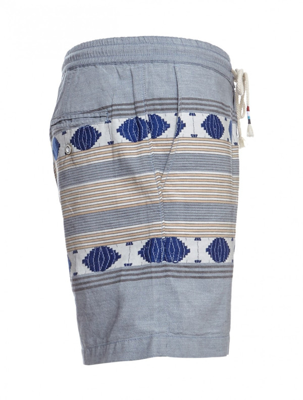 Men's Sol Angeles Windward Ikat Chambray Shorts