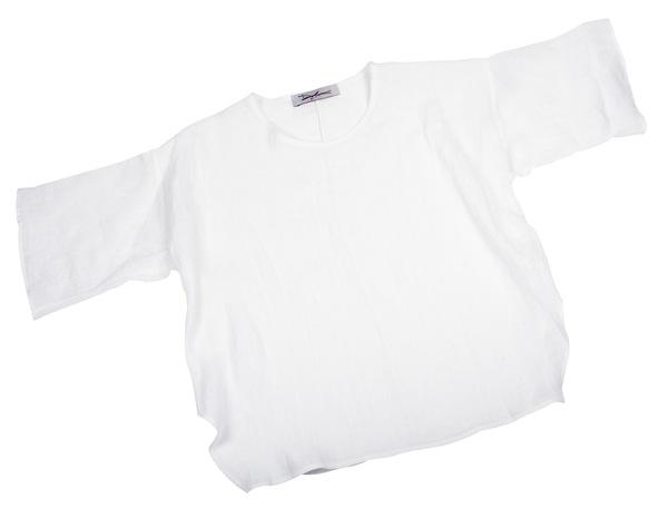 Devlyn van Loon Side Split T - White