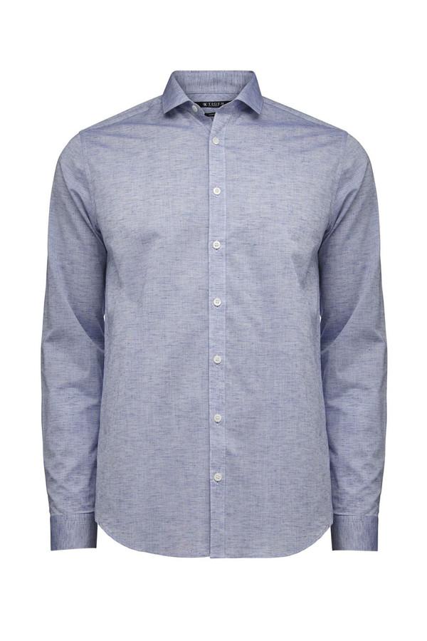 Men's Tiger of Sweden Port Blue Steel 2 Shirt