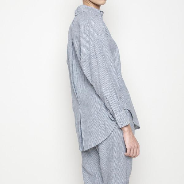7115 by Szeki Stripe Dolman Shirt