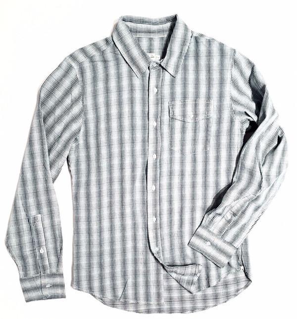 Men's Bridge & Burn Clinton Indigo Plaid Shirt